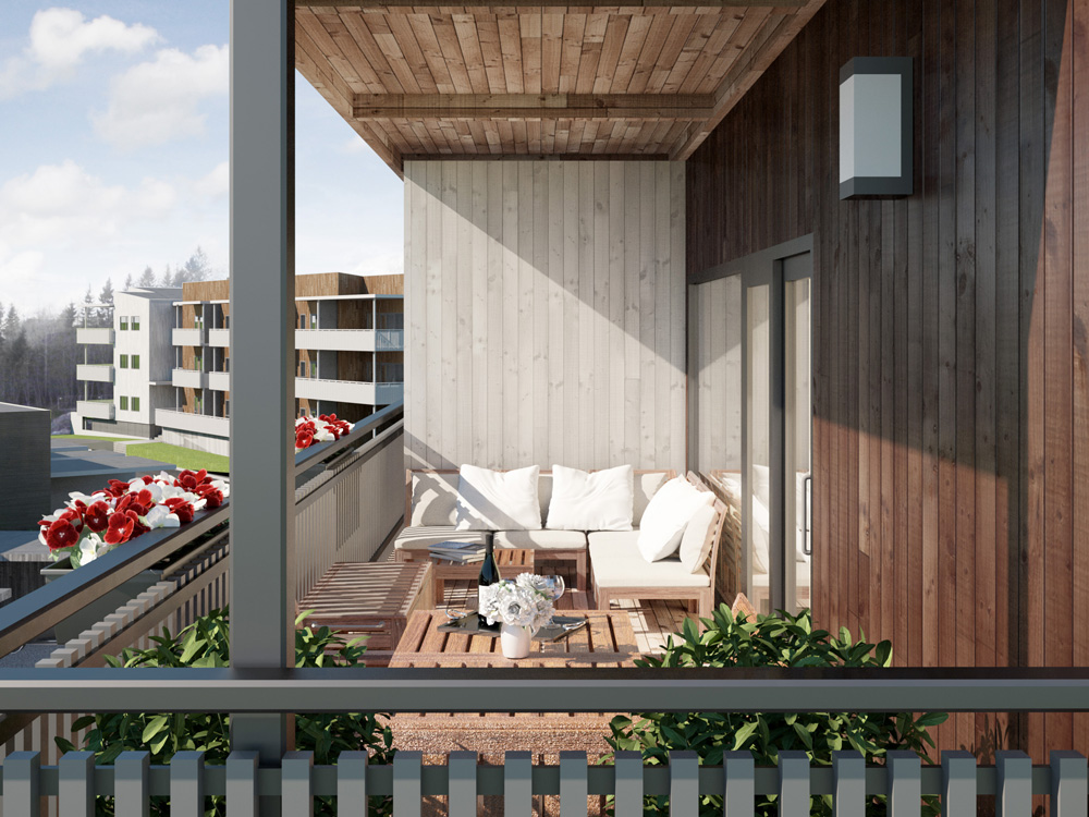 fosslia-hageby-leiligheter-veranda